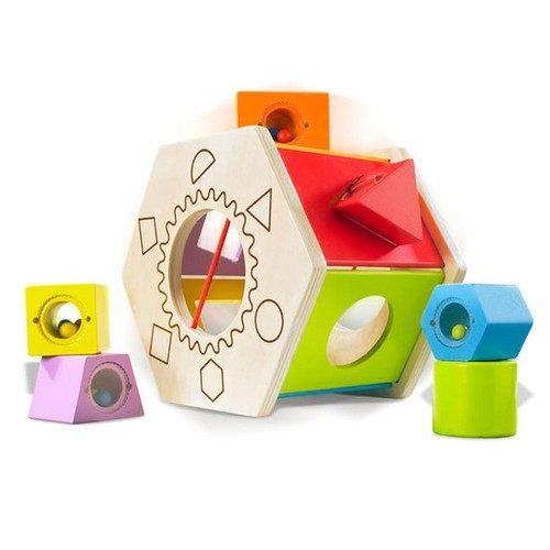 משחק התאמת צורות   צעצועי התפתחות   התאמת צורות   צעצועי עץ
