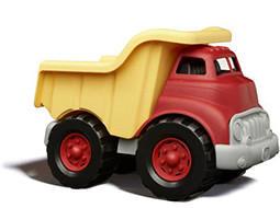 ליין ירוק משאית אדום צהוב | צעצועי התפתחות | כלי תחבורה