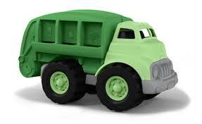 ליין ירוק משאית מחזור | צעצועי התפתחות | כלי תחבורה