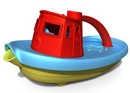 ליין ירוק סירה גוררת | צעצועי התפתחות | כלי תחבורה