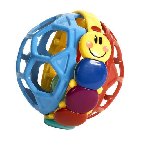 רעשן כדור גמיש בייבי אינשטיין BABY EINSTEIN   צעצועי התפתחות   רעשנים