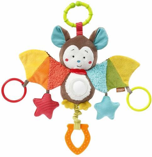 פעלולן עטלף עם טבעת פן FEHN | צעצועי התפתחות | מוביילים וצעצועי תליה