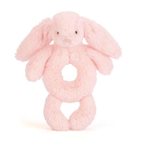 bashful pink bunny grabber רעשן   בובות רכות   בובות   בובות רעשן   קסטל