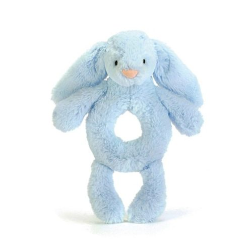 bashful blue bunny grabber רעשן   בובות   בובות רכות   בובות רעשן   קסטל