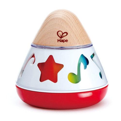 תיבת נגינה מסתובבת   צעצועי התפתחות   צעצועים מנגנים אלקטרוניים   HAPE