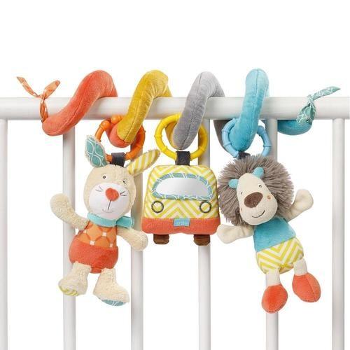 פעלולן ספירלה פנקי וחברים פן FEHN | צעצועי התפתחות | מוביילים וצעצועי תליה