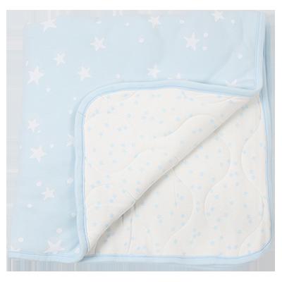 שמיכת חורף קטנה עם מילוי גוון כחול | טקסטיל | שמיכות | שמיכות מילוי | מיננה