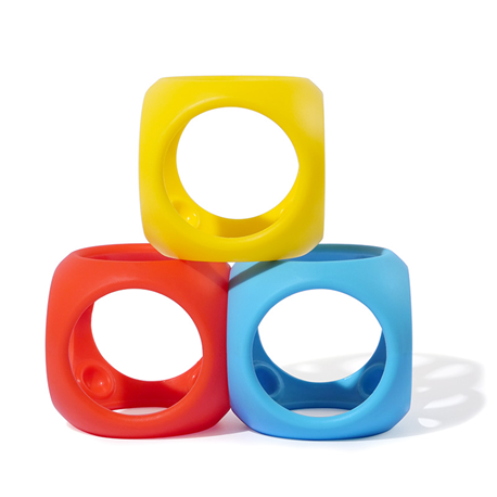 אויבו Oibo שלישיה צבעוני | צעצועי התפתחות | moluk