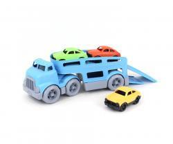 ליין ירוק מוביל מכוניות | צעצועי התפתחות | כלי תחבורה