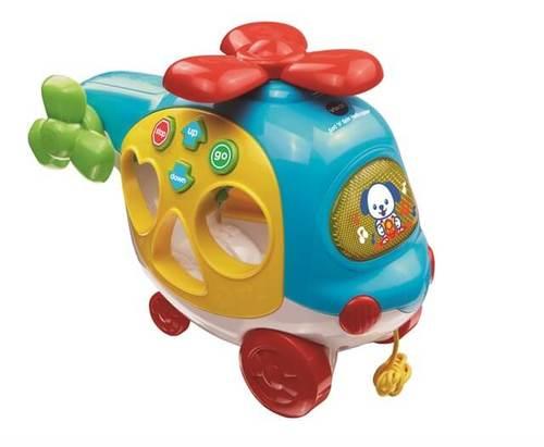הליקופטר צורות   צעצועי התפתחות   התאמת צורות   צעצועים מנגנים אלקטרוניים   VTECH