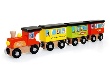רכבת מסביב לעולם   צעצועי התפתחות   כלי תחבורה   SCRATCH