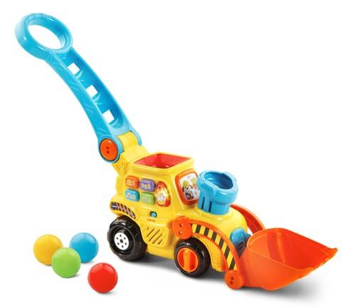 דחפור הכדורים |צעצועי התפתחות | כלי תחבורה | צעצועים מנגנים אלקטרוניים