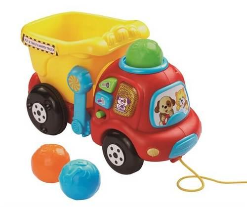 משאית כדורים | צעצועי התפתחות | כלי תחבורה | צעצועים מנגנים | VTECH