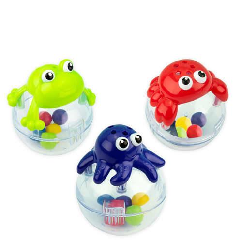 צעצועים צפים מתנדנדים ומסננים לאמבטיה 3 חלקים SASSY   צעצועי התפתחות   צעצועי אמבטיה