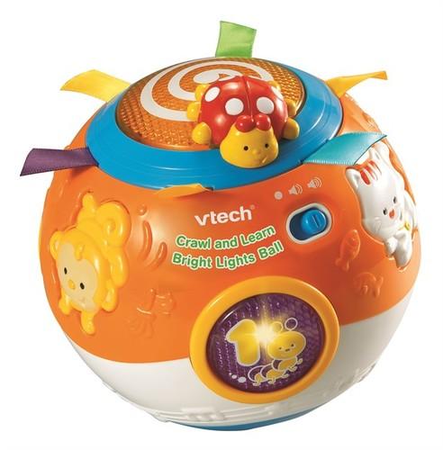 כדור תנועה כחול | צעצועי התפתחות | צעצועי דחיפה | צעצועים מנגנים אלקטרוניים | VTECH