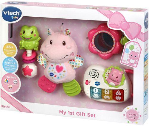 חבילת המתנה הראשונה | צעצועי התפתחות | צעצועים מנגנים אלקטרוניים | VTECH