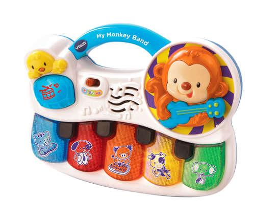 להקת קוף | צעצועי התפתחות | צעצועים מנגנים אלקטרוניים | VTECH