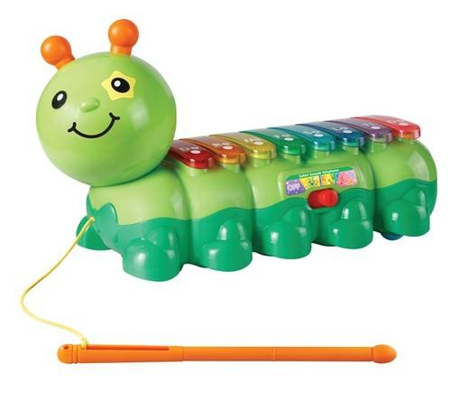קסילופון זחל | צעצועי התפתחות | צעצועים מנגנים אלקטרוניים | VTECH