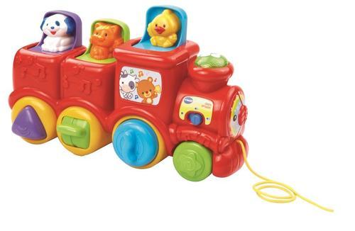 רכבת החברים אדום HEB | צעצועי התפתחות | צעצועים מנגנים אלקטרוניים | VTECH