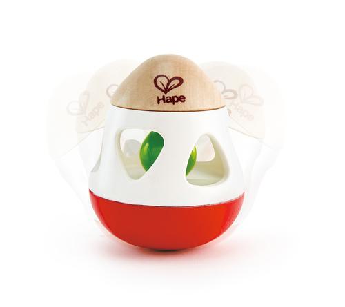 רעשן פעמון   צעצועי התפתחות   רעשנים   צעצועי עץ   HAPE