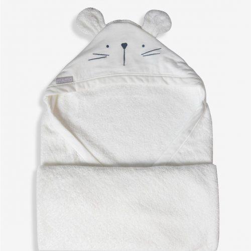 מגבת חיבוקי לבן